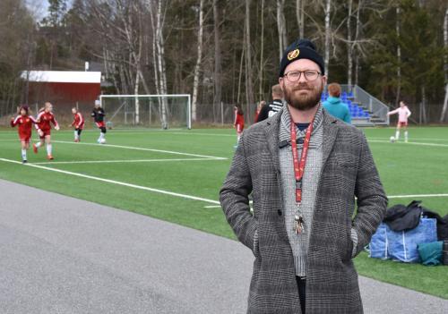 Hanvikens ordförande Mathias Tegnér berättar om hur idrottsföreningar påverkas av Coronakrisen