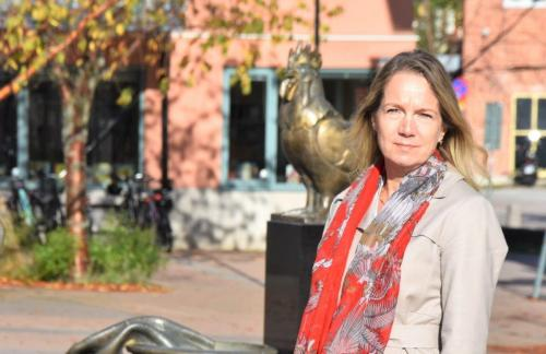 Kommunstyrelsens ordförande Anita Matttsson (S)