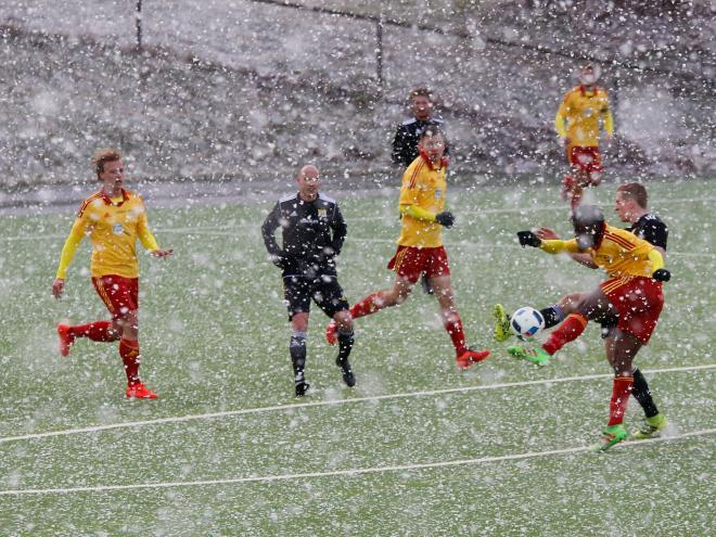 Snö och solmatchen mot Ingarö. Ett oförglömligt minne.