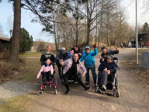 Löpargänget från Göteborg efter löparträff. Ungefär 200 personer är aktiva i Bara vanligs aktiviteter runt om i Sverige.