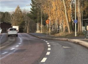 Trafiksituation som är på väg att förändras