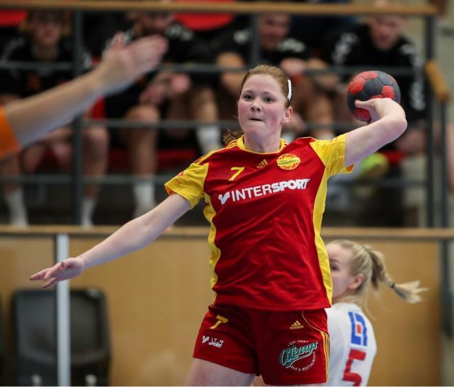Hanna Hellström stark på vänsterkanten