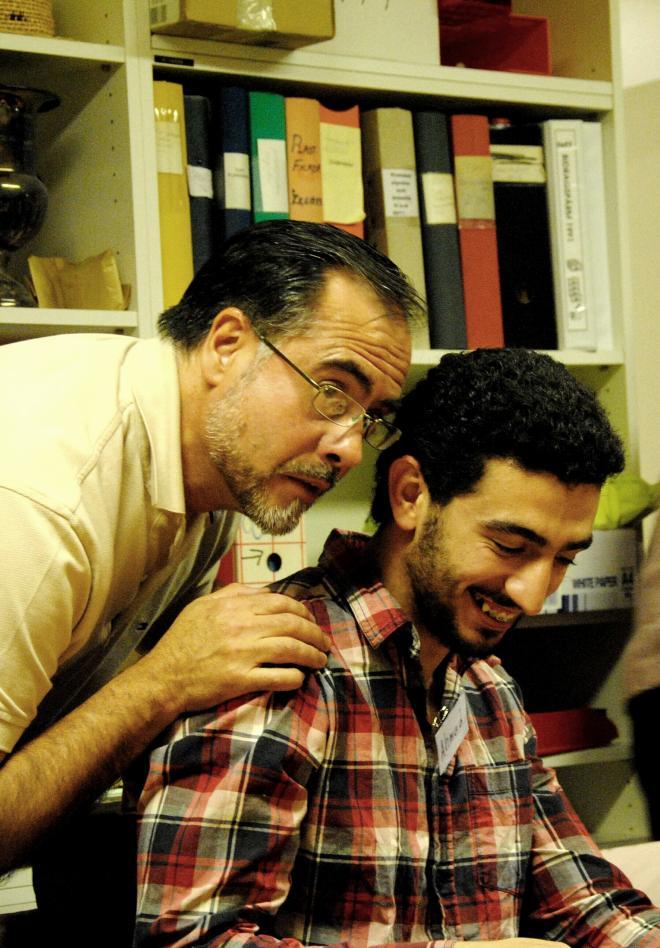 <span>Fernando Quiroga (TUFF) & Ahmad</span>