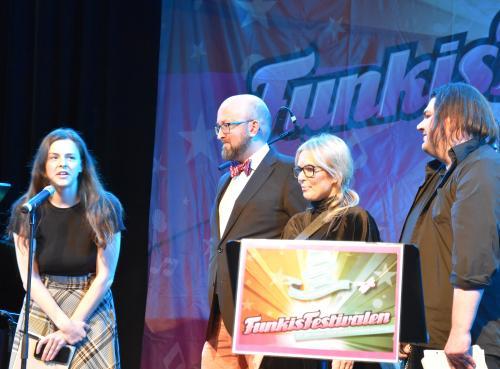 Juryn, Emmalina Blomberg, Johan Wållberg, Helena Karlsson och Thomas Claesson