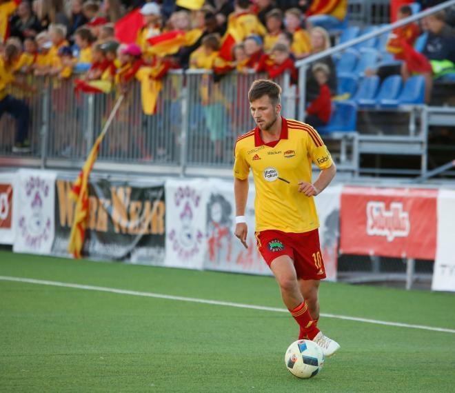 Christoffer Nyberg måttar ännu ett inlägg