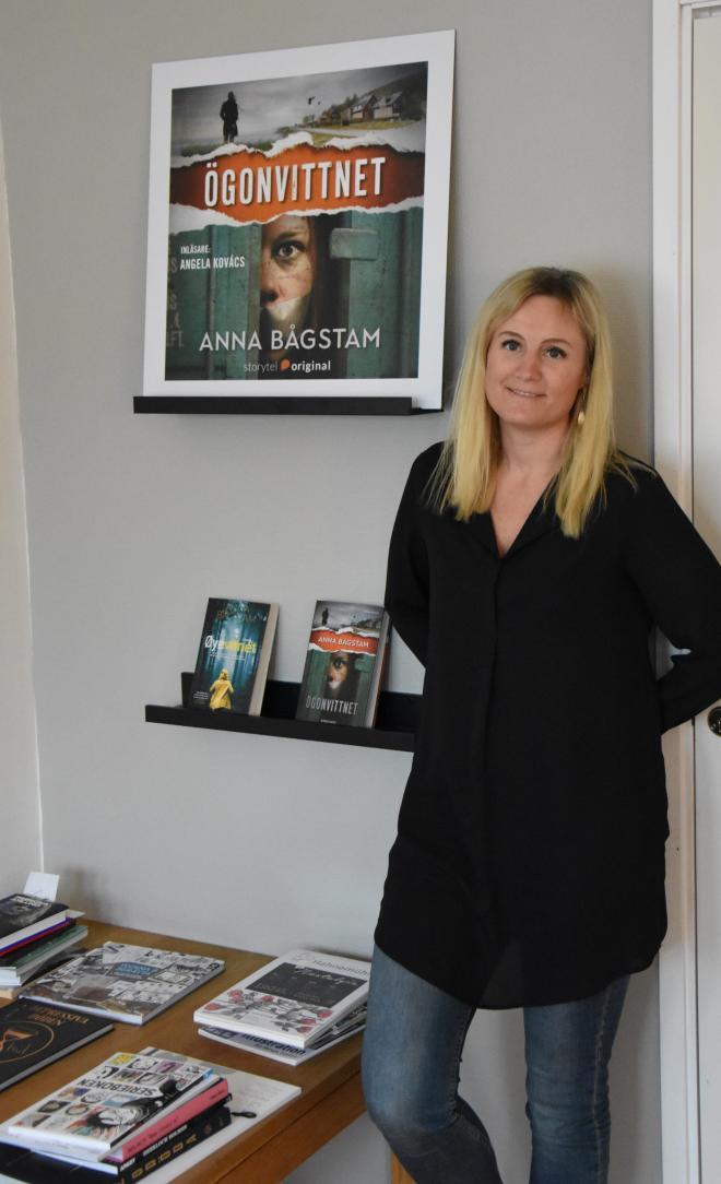 Anna Bågstam har samlat på sig en del saker sedan debuten med Stockholm Psycho.