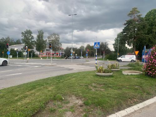Korsningen Bollmoravägen/Njupkärrsvägen