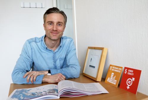 Felix Ockborn, hållbarhetsstrateg Tyresö kommun