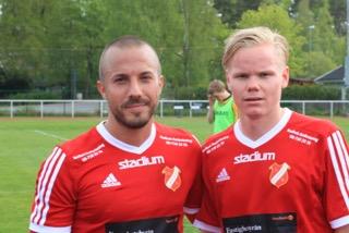 Avernäs och Lundin.HSK´s målskyttar.
