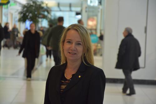 Anita Mattsson (S), kommunstyrelsens ordförande vill se kommunal drift av äldreboendet