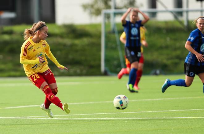 Kim Hedlund af Schmidt blev vald till matchens spelare ytterst välförtjänt.