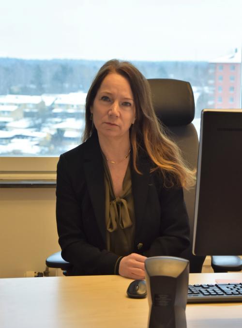 Anita Mattsson (S) nytillträdd kommunstyrelseordförande vill ta ansvar för Tyresö kommuns utmaningar.
