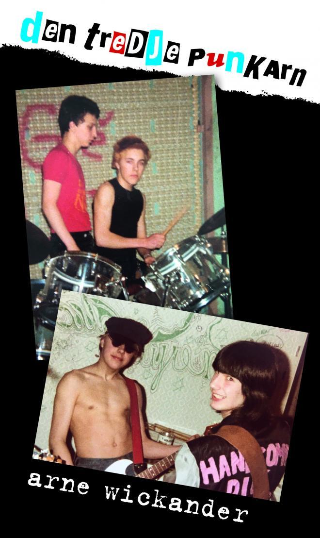 Arne var en av få punkare med en instamatickamera ständigt i handen så mycket finns på bild.
