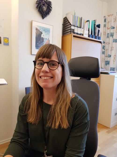 Hanna Dahlgren är Tyresös anhörigkonsulent.