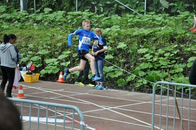 Albin Eriksson hoppade långt i tresteget