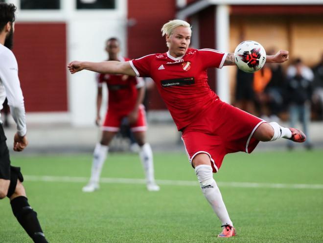 Jonathan Avernäs blev Hanvikens räddare i matchen mot Järla IF.