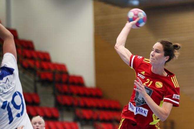 Fanny Norsten. 8 mål och matchens spelare.