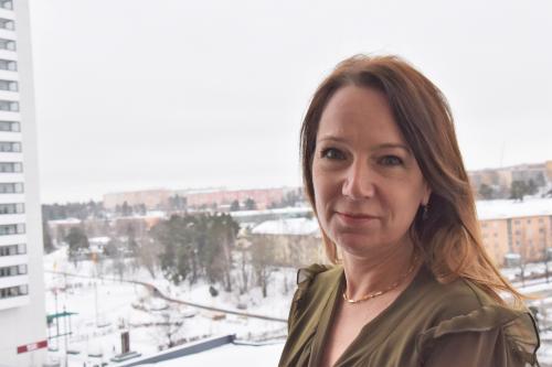 Anita Mattsson (S) Kommunstyrelsens ordförande
