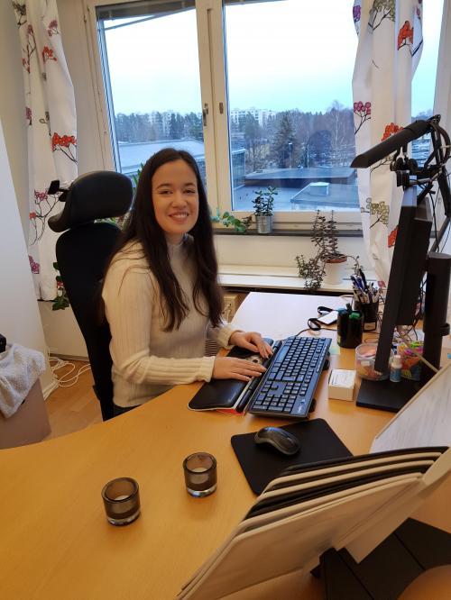 Marika Skarphed, anhörigkonsulent