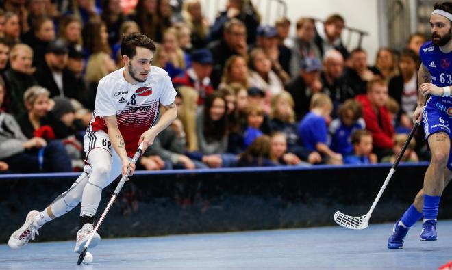 Lukas Johansson var en av de piggaste spelarna i TT
