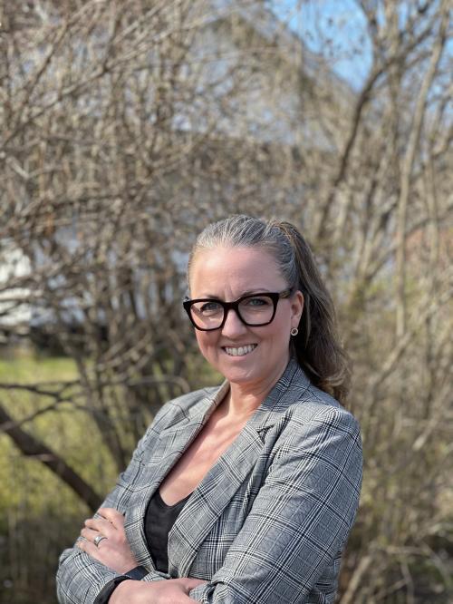 Jannice Rockstrog (S), ordförande i barn- och utbildningsnämnden har länge kämpat för tryggare skolvägar i Tyresö