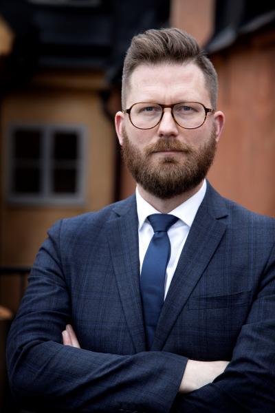 Mathias Tegnér (S), riksdagsledamot för Tyresö