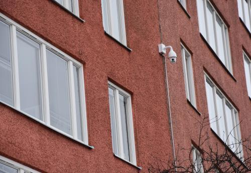 Övervakningskamera på Granängsringen