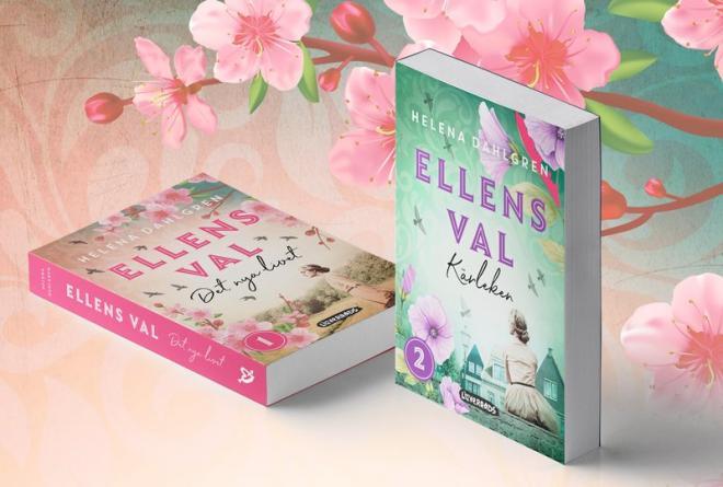 Helena startar upp bokserien Ellens val med böckerna Det nya livet och Kärleken.