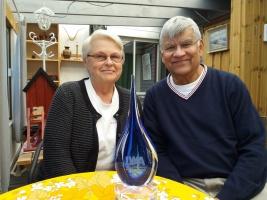 Ulla och Sudhir Chowdhury