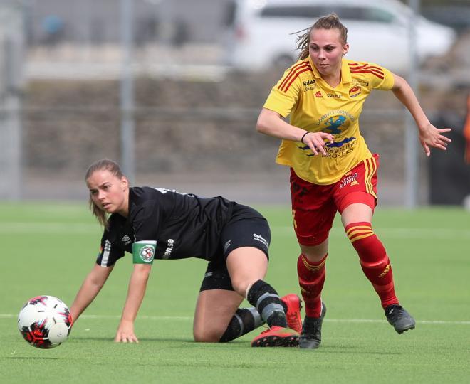 Frida Thörnqvist var inte lätt att tas med för Örebroförsvaret.