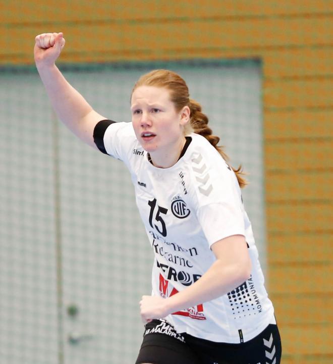 Josefine Johansson bästa målskytt med 10 mål.