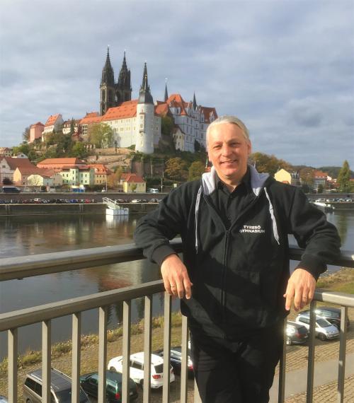Försteläraren Michael Krobath var en av de lärare som i höstas åjte till Dresden för att skapa ett praktiksamarbete.