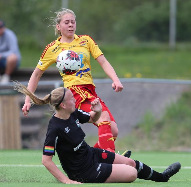 Alice Bergström kommer säkert att vara hårt bevakad under helgens match.
