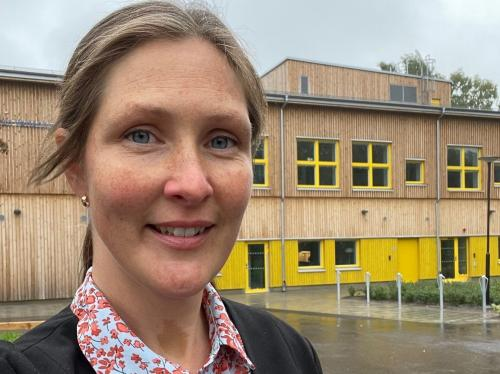 Vattenhjulets rektor Ann-Sofie Måhlstedt