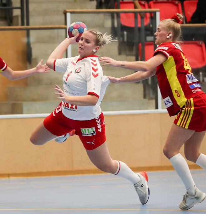 Hanna Bergqvist var svårstoppad-