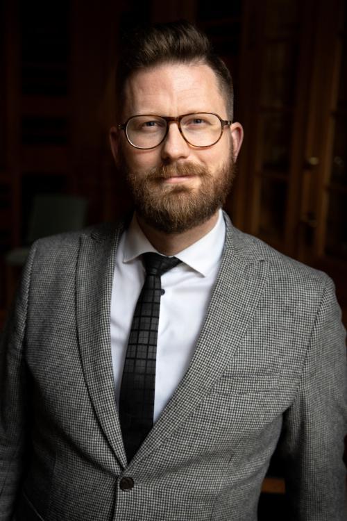 Mathias Tegnér (S), riksdagsledamot från Tyresö