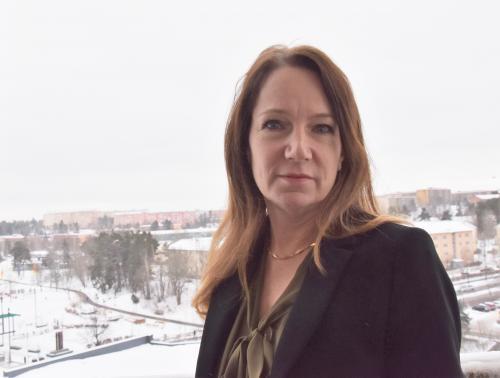 Kommunstyrelsens ordförande i Tyresö, Anita Mattsson (S), vill kunna ta buss 803 från Norra Sköndal.