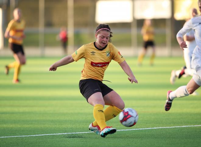Josefin Steger en av de bästa i Älta.m Foto: Claus Meyer