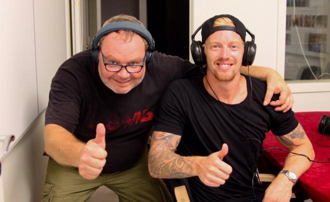 Att bli intervjuad i Tyresöradion är en av de största händelserna i Joakim Nordströms liv.