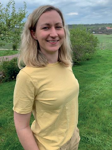 Tyresö kommuns nya kostchef Elizabeth Magnusson.