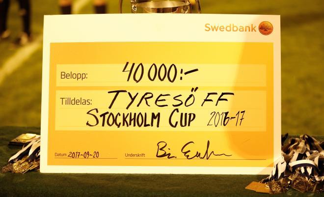 Seger i Stockholm Cup. Check.