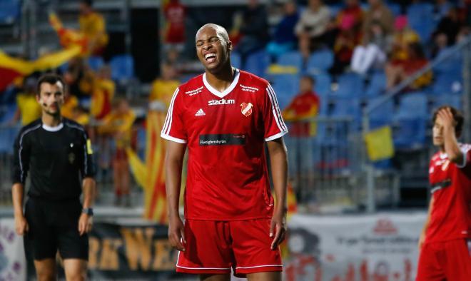 Yabir Abdihakim besviken efter matchen