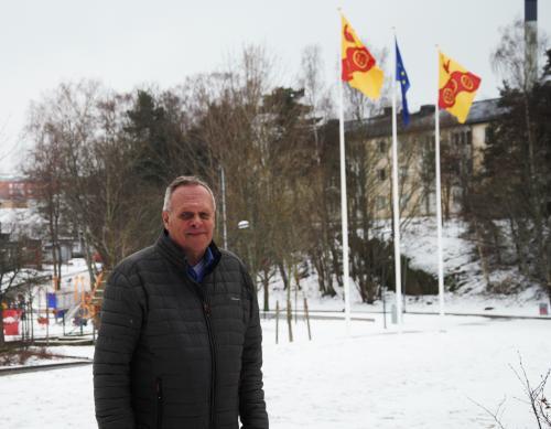 Tony Thorén (L) är ny ordförande i Gymnasie- och arbetsmarknadsnämnden. Foto: Tyresö Nyheter