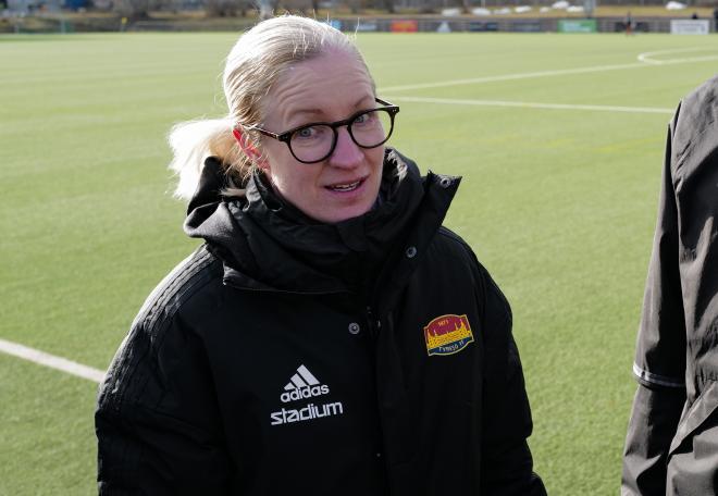 En inte så nöjd Victoria Sandell, tror åtminstone vi på Tyresö Nyheter.