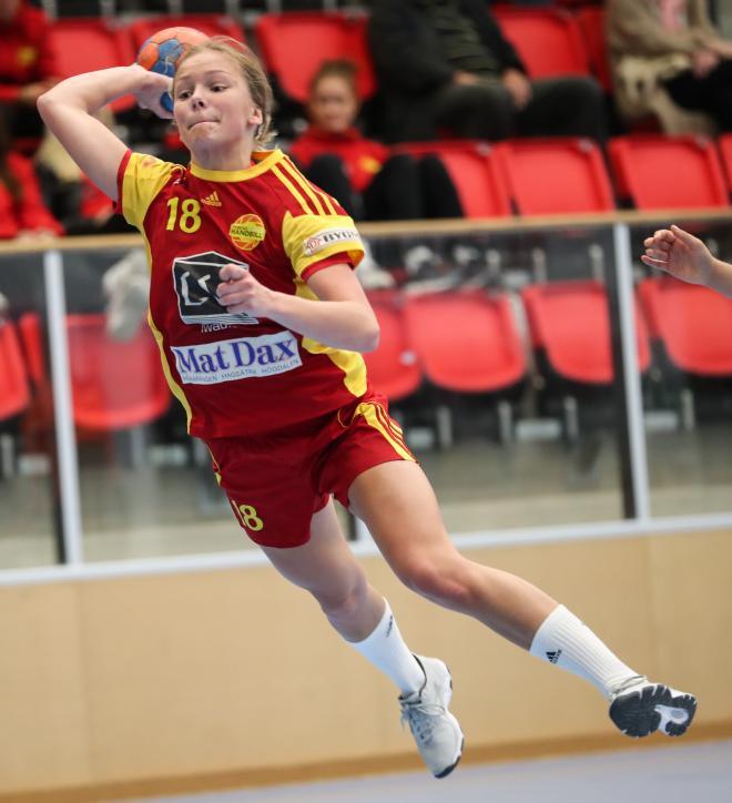 Madeleine Lindgren gjorde fem mål.