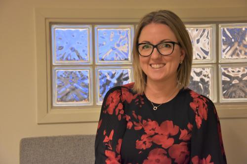 Jannice Rockstroh, (S) nytillträdd ordförande i barn och utbildningsnämnden.
