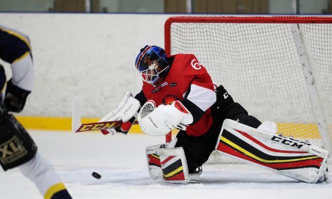 Ishockey i Enköping på Söndag.