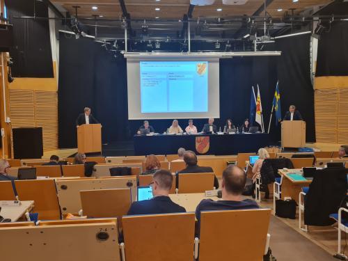 Martin Nilsson (S) i debatt mot Per Carlberg (SD)