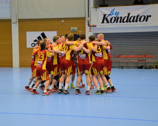 Fotot är från vinsten mot Anderstorp i kvalspelet förra året.