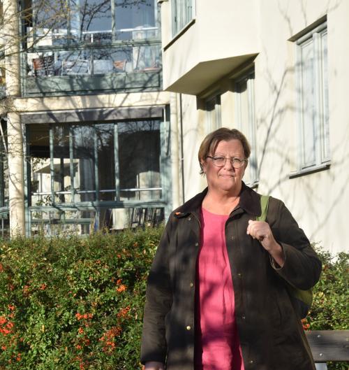 Susann Ronström (S), vice ordförande i Äldre- och omsorgsnämnden